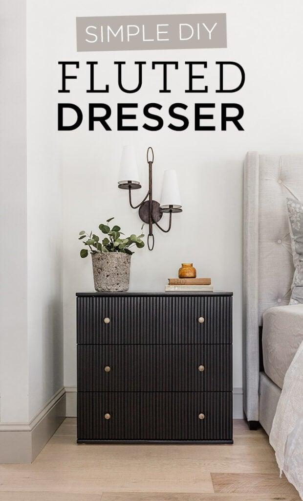 Diy Fluted Dresser
