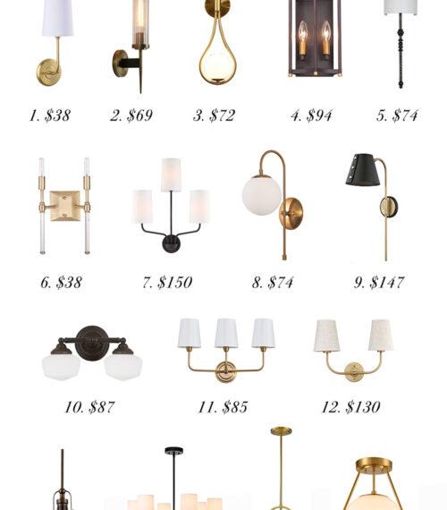 affordable lighting on amazon