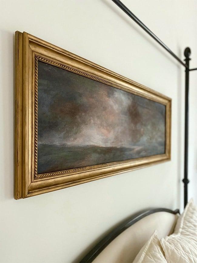 diy vintage painting