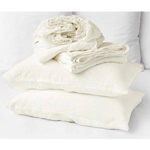 ivory Linen Sheets