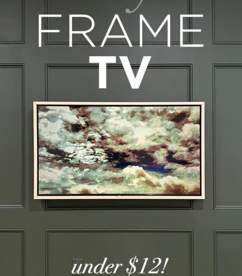 DIY Frame TV
