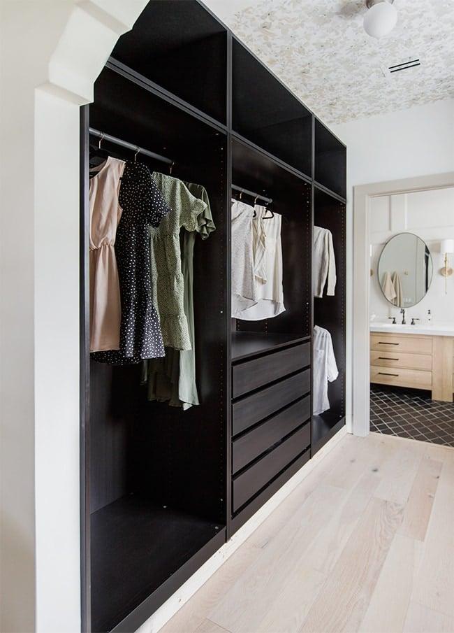 diy pax closet