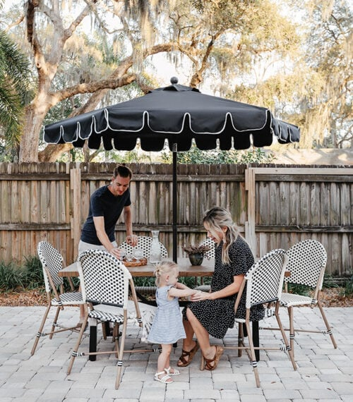 french bistro patio dining set