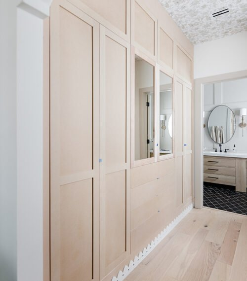 custom ikea pax closet