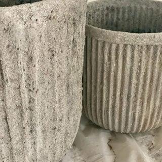 diy stone planter