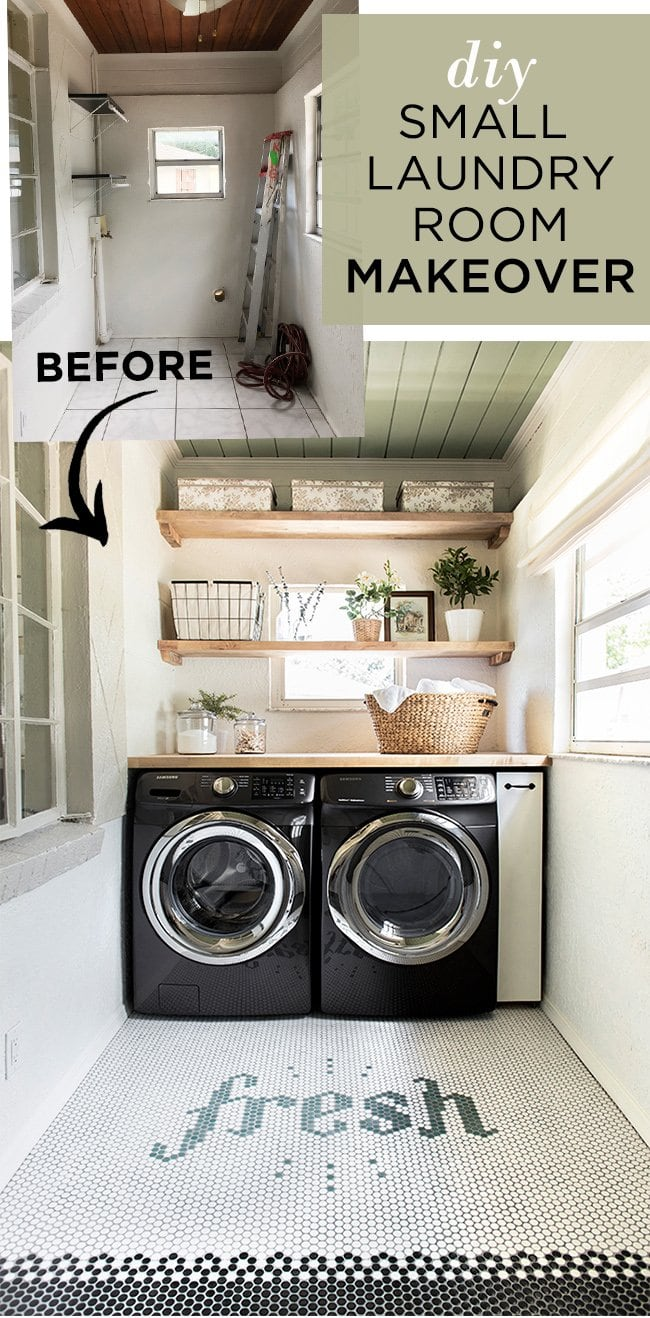 Laundry Room Makeover Riverside Retreat