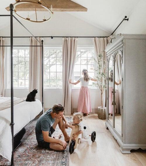 family bedroom photo