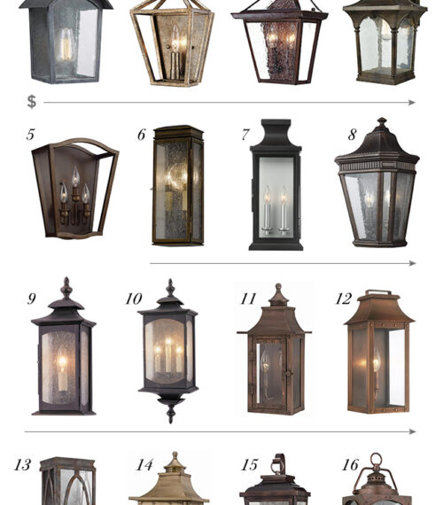 wall lantern roundup
